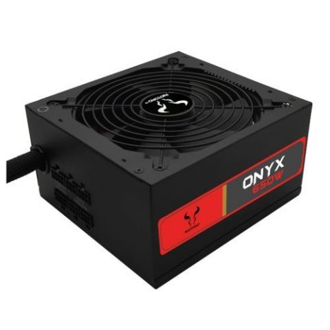 Riotoro 650W Onyx PSU, Semi-modular, Sleeve Bearing Fan, 80+ Bronze, Flat Cables